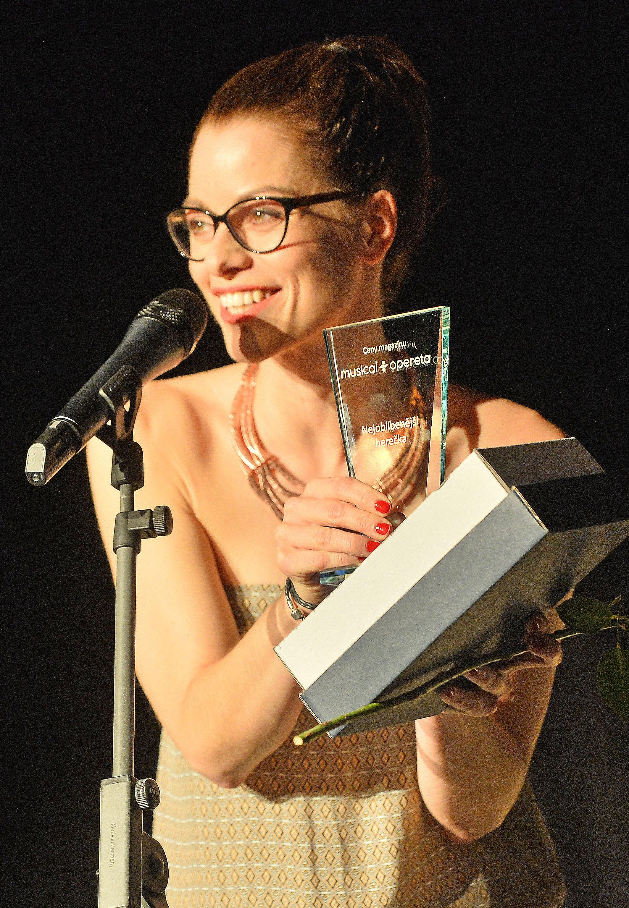 Hana Holišová - Ceny musical-opereta - Editorial 2016