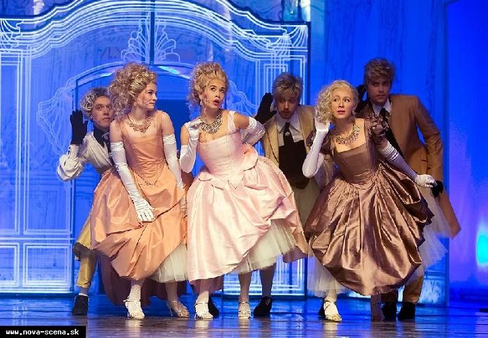 muzikál Madame de Pompadour