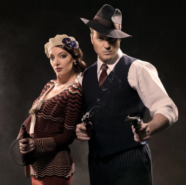 Muzikál Bonnie a Clyde, foto David Kraus