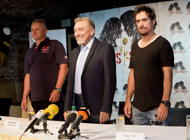 Egon Kulhánek, Karel Gott, Sagvan Tofi